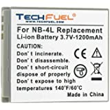 Canon PowerShot SD630 Digital Camera Replacement Battery - TechFuel Professional NB-4L Battery