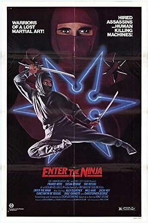 Amazon.com: Enter the Ninja POSTER Movie (27 x 40 Inches ...