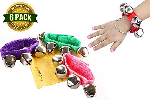 POPLAY Band Wrist Bells PCS product image