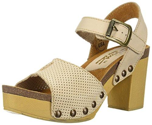 Women's Sandal Tonto Sbicca Heeled Beige pq80g1w
