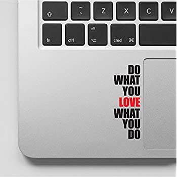Do What You Love Motivational Inspirational Quote Laptop Macbook Sticker  Decal   WD 87