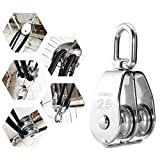 Lind Kitchen Lifting Double Pulley Stainless Steel