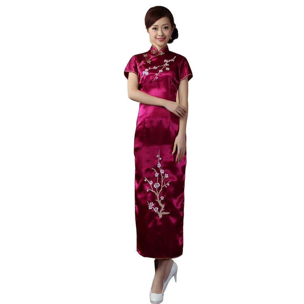 COCONEEN Elegant Chinese Qipao Traditional Cheongsam Dresses 6