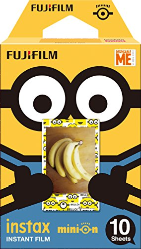 Fujifilm Instax Minion Instant Film Standard Version - 10 Exposures (Polaroid Camera Film Disney)