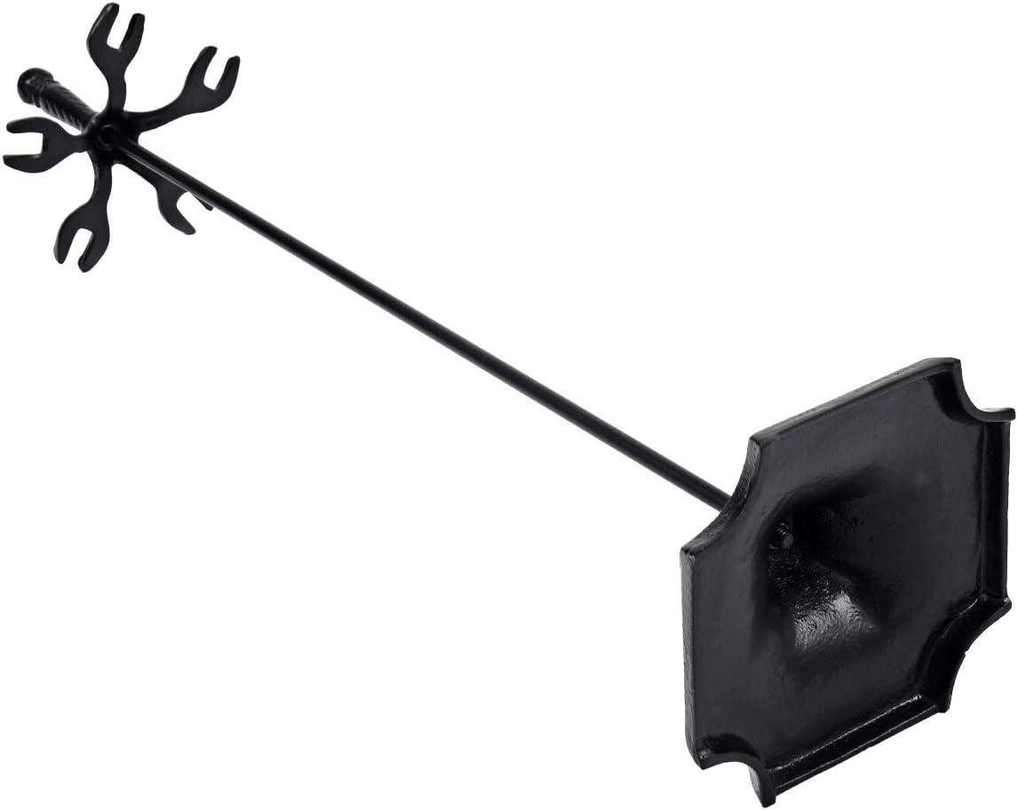 DREAMADE 5-Teiliges Kaminbesteck Kamin Werkzeuge Sets aus Eisen St/änder Besen Schaufel Sch/ürhaken Zange Kamingarnitur Kaminset Kaminwerkzeug Ofenbesteck Kamin Zubeh/ör-Kit inkl