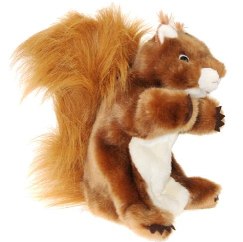 The Puppet Company - Long-Sleeved Glove Puppets - Squirrel (Red)