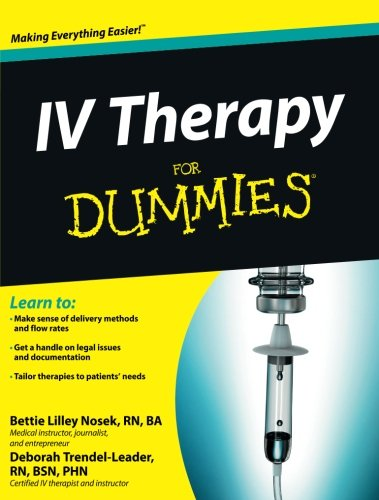 iv therapy demystified a selfteaching guide