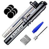 260 PSI Mini Bike Pump for Presta & Schrader,2 in 1 Screw Valve and High Pressure for All Cycle Tires - Bonus Accessories Included