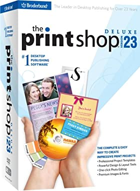 The Print Shop 23 Deluxe [Old Version] oh