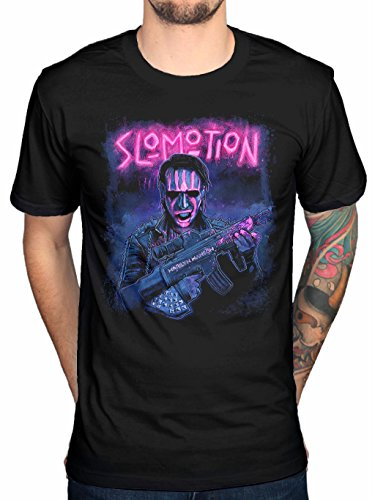 Rockstar Marilyn Manson Slomotion Men's T-Shirt Black (XX-Large)