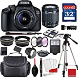 Canon EOS 4000D / Rebel T100 DSLR Camera with...