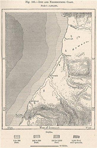 Amazoncom Sidi Ifni Agadir neighbouring coast Morocco 1885