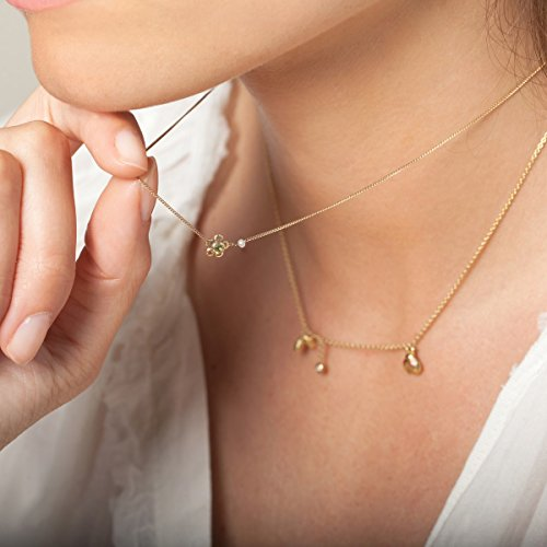 Collier or blanc For Ever - Panajee