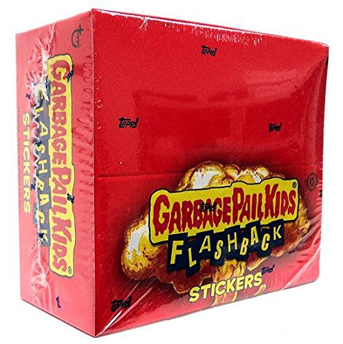Topps Garbage Pail Kids Flashback Trading Card Stickers Box Series 2 24 Packs ()