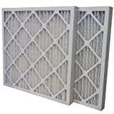US Home Filter SC80-24X30X2 MERV 13 Pleated Air Filter (6 Pack), 24'' x 30'' x 2''