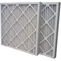 US Home Filter SC80-25X25X2 MERV 13 Pleated Air Filter (6 Pack), 25 x 25 x 2