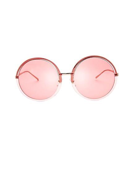 Gafas de sol de protección solar Nuevas gafas de sol redondas grandes Gafas de sol polarizadas