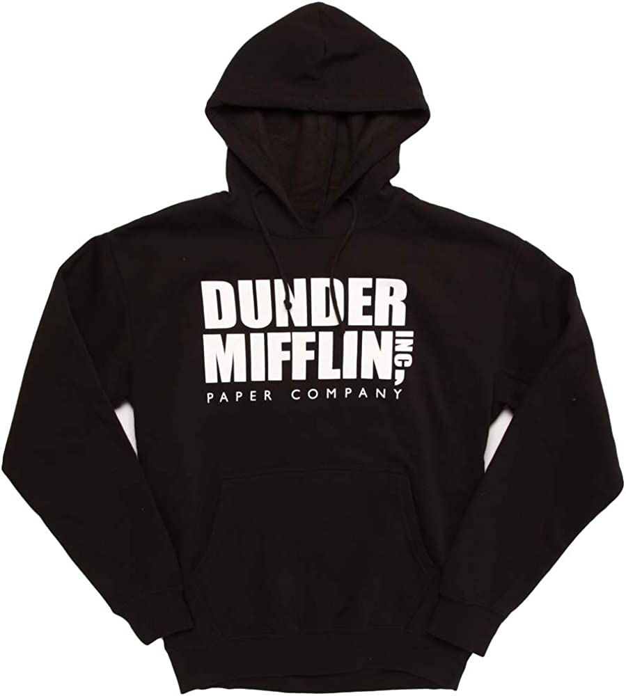 Ripple Junction The Office Dunder Mifflin Logo Adult Hoodie