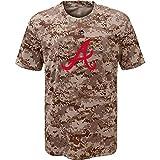 Majestic MLB Youth Digi Camo T-shirt (Youth Xlarge 18/20, Atlanta Braves)
