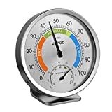 "Best Hygrometers - LittleGood 5"" Indoor Outdoor Hygrometer/Thermometer, Humidity Gauge Indicator Review"