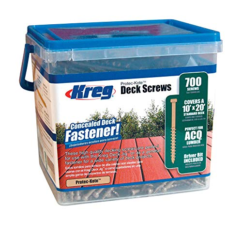 Kreg Protec-KoteTM Deck Screws