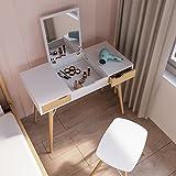 Jamesdar JBTAB479-SA Blythe Vanity Table, White