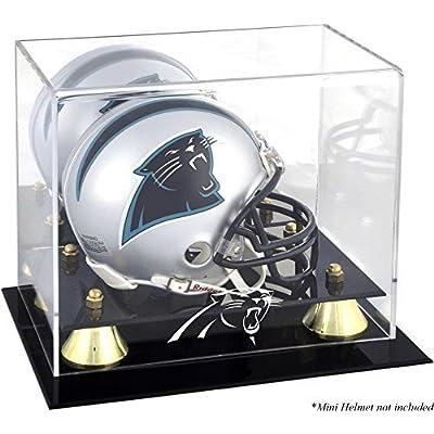 Mounted Memories Carolina Panthers Mini Helmet Display Case by Mounted Memories