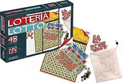 Amazon.com: Loteria. 48 Cartones importado de España. Con ...