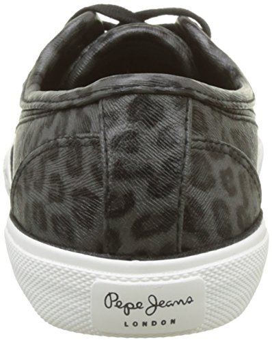 Pepe Jeans Women's Abernew Smoke Trainers Grey (Grey 945) Ygn6X5Tvh