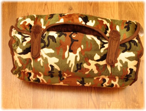 Ozark Mountain Kids Nap Mat - Includes Mat, Blanket, and Pillow - Portable - Machine Washable - Camoflage by Ozark Mountain Kids