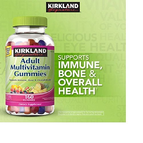 Kirkland Signature Adult Multivitamin, 320 Gummies, Pack of 2