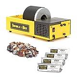 Tumble-Bee Rotary Rock Tumbler | Includes Rock Grit Polish Kit | Model TB-12, 1X2LB Barrel