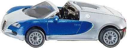 Siku 1353 Modelo Juguete Bugatti Veyron Grand Sport Car réplica Diecast Modelo Juguete