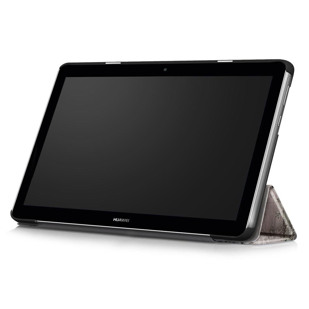 Folio Custodia per Huawei Mediapad T3 10 Tablet DETUOSI Huawei Mediapad T3 10 Custodia Cover 2017 Modello