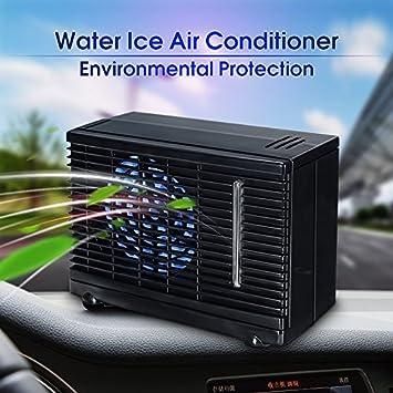 bestweekend Home portátil de 12 V coche ventilador de refrigeración por evaporación de hielo agua aire acondicionado: Amazon.es: Electrónica