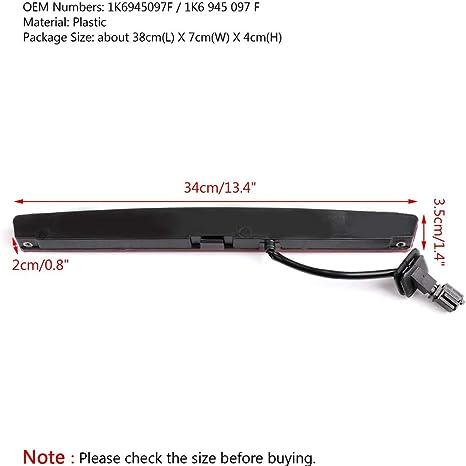 MAICOLA 1K6945097F 3rd Center High Level Brake Stop Light Fit For Rear Spoiler Rabbit 06-09
