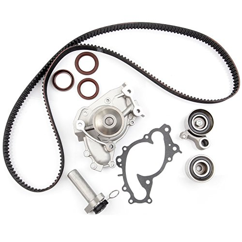 ECCPP Timing Belt Water Pump Kit Fits for 1994-2004 Toyota Camry Avalon Sienna Solara Lexus ES300 RX300 3.0L V6 DOHC 24V Engine 1MZFE (Toyota Camry 2001 Water Pump)