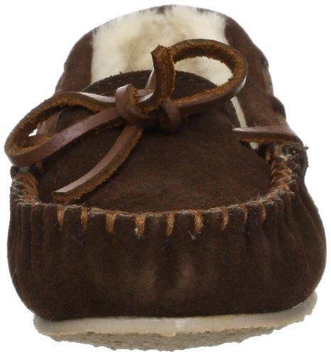 Minnetonka Cassie 4815 Mädchen Hausschuhe Braun (Chocolate)