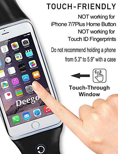 Running Waist Belt Pouch Case Fit iPhone 7/7 Plus,6S/6