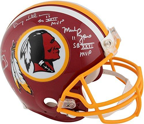 Washington Redskins Autographed Riddell Pro-Line Helmet with Multiple Signatures and Super Bowl Inscriptions - Fanatics Authentic -