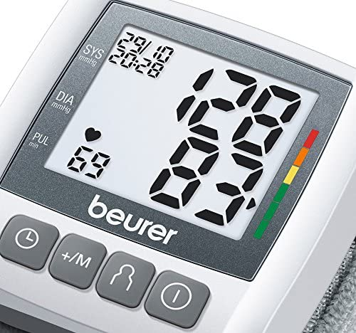 Beurer BC30 - Tensiómetro de muñeca, indicador OMS, memoria 3 x 40 ...
