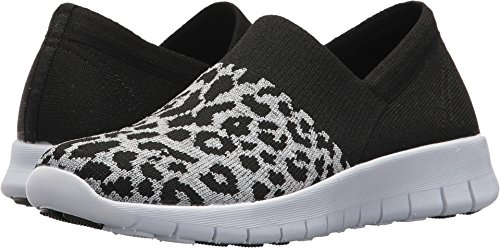 Skechers Women's Bright Idea - On Edge Black/Grey 6 B US (Edge Skechers)