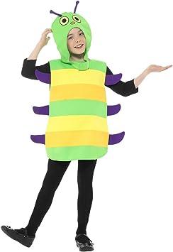 NET TOYS Encantador Disfraz de Oruga para niño y niña - Verde ...