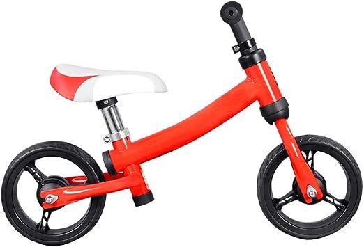 TONGSH Bicicleta de Equilibrio para niños para niños y niñas de 1 ...