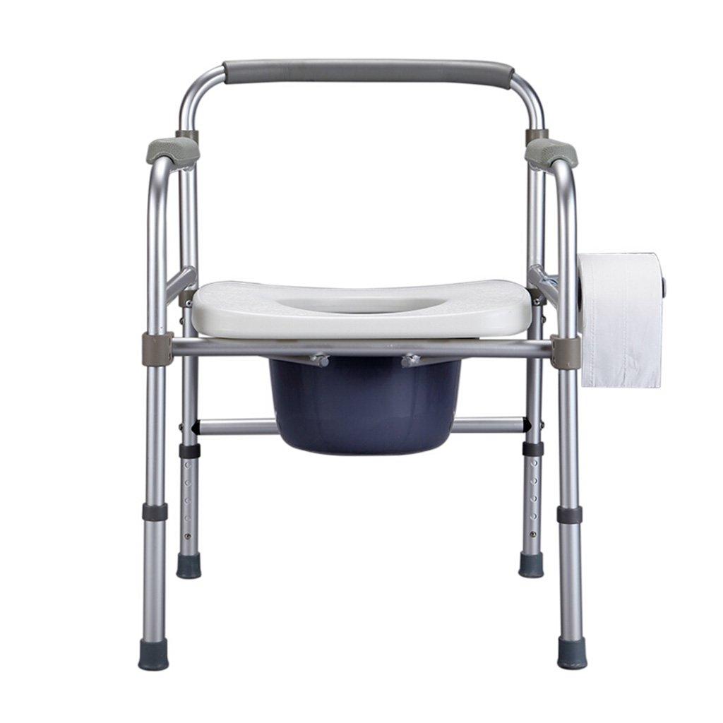 GRJH® トイレチェア、リムーバブル折り畳み式老人トイレ妊婦浴室椅子バスルームアルミ合金トイレチェア 防水,環境の快適さ   B0799BKN6D