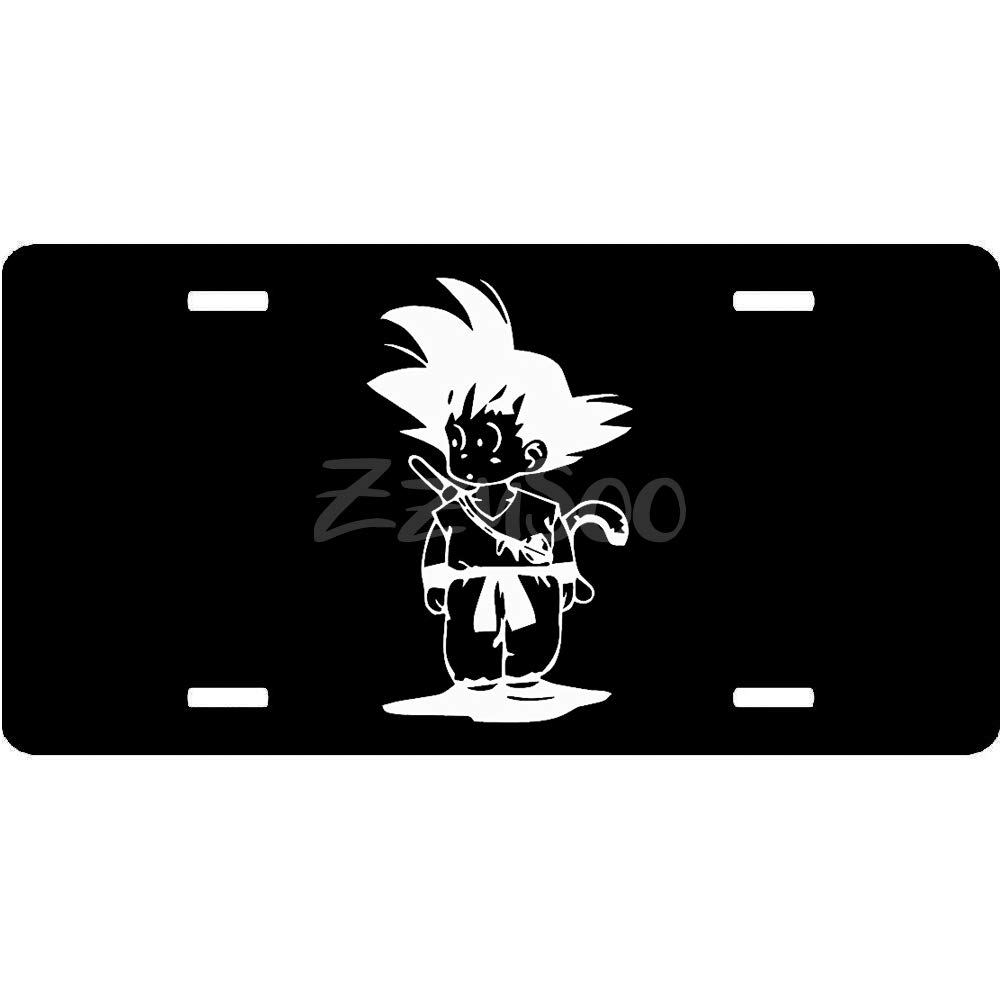 12 X 6 Fit for US /& Canada Humor Customized Tag for Front of Car ZzUSoo Car License Plate Holder 4 Holes and Screws