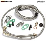 EPMAN T3, T4, T35, T40, T60, T67, T70, T76 Turbos Turbo Oil/Water Feed Drain Fitting Line Kit