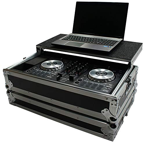 Harmony HCDDJSBLT Flight Glide Laptop Stand Road DJ Case fits Pioneer - Case Computer Audio