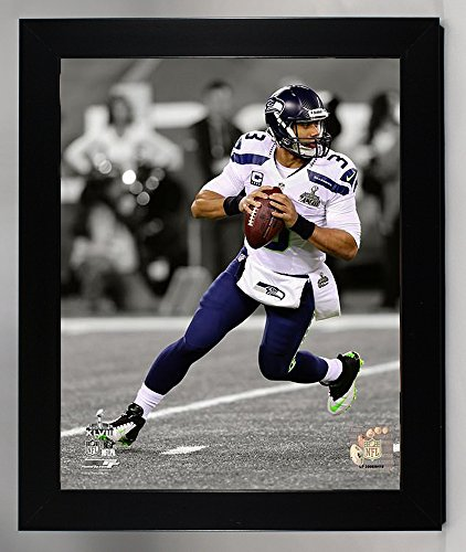 Framed Seattle Seahawks Russell Wilson 8x10 Photo, Picture