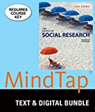 Bundle: The Basics of Social Research, Loose-leaf Version, 7th + MindTap Sociology, 1 term (6 months) Printed Access Card